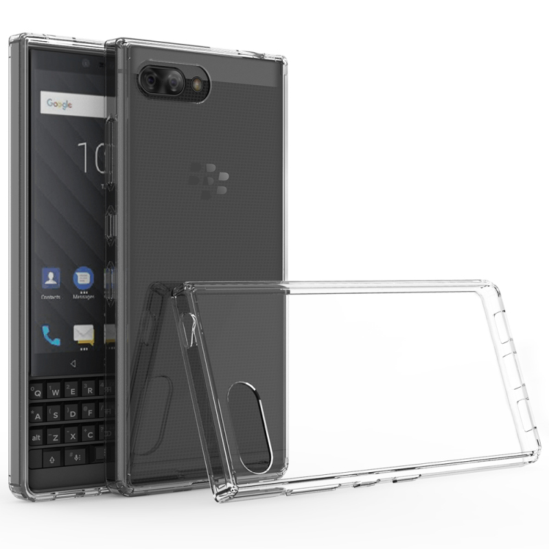 For Blackberry Key 2 Case Crystal TPU & PC Hard <font><b>Cover</b></font> for Coque Blackberry Key Two <font><b>Smartphone</b></font> Case Black Berry Key2 KeyTwo Armor image