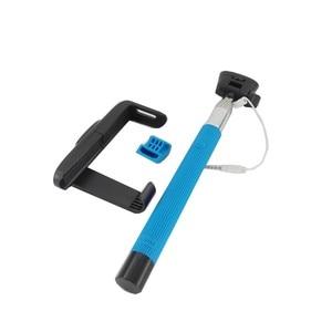 Image 5 - Z07 7 Audio kabel przewodowy Selfie Stick wysuwany monopod własny kij dla iPhone 7 6 plus 5 5S 4S IOS Samsung z systemem Android