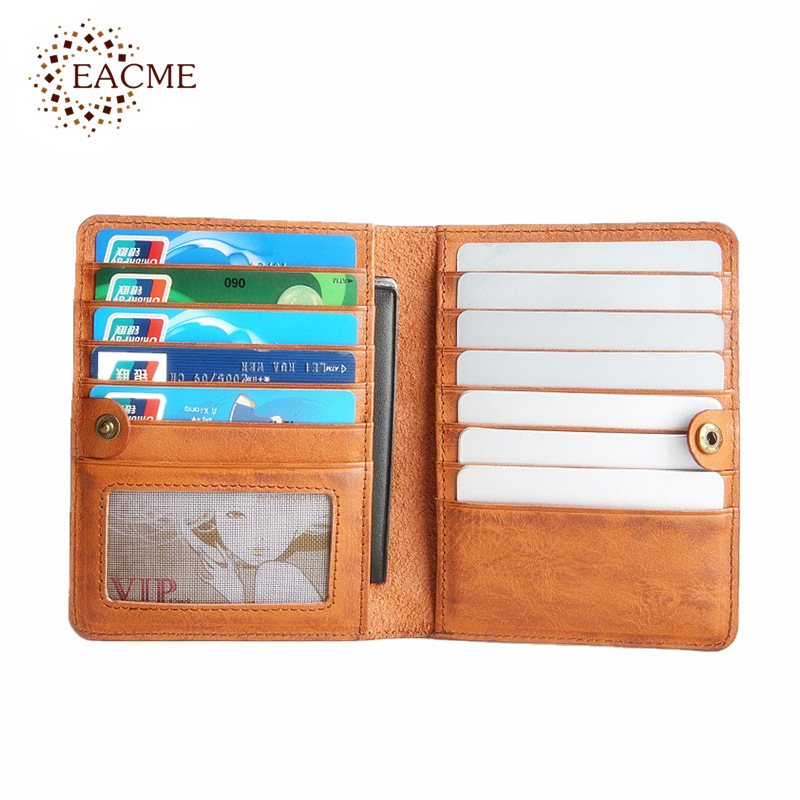 EACME Elephant Design Leather Credit Card Case Hasp Cute Bank Card ...
