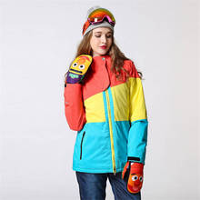 купить Snowboarding Set Women Ski Suit  Snowboard Sets Female Winter Skiing  Sportswear Snow Breathable Waterproof  Outdoor Clothes в интернет-магазине