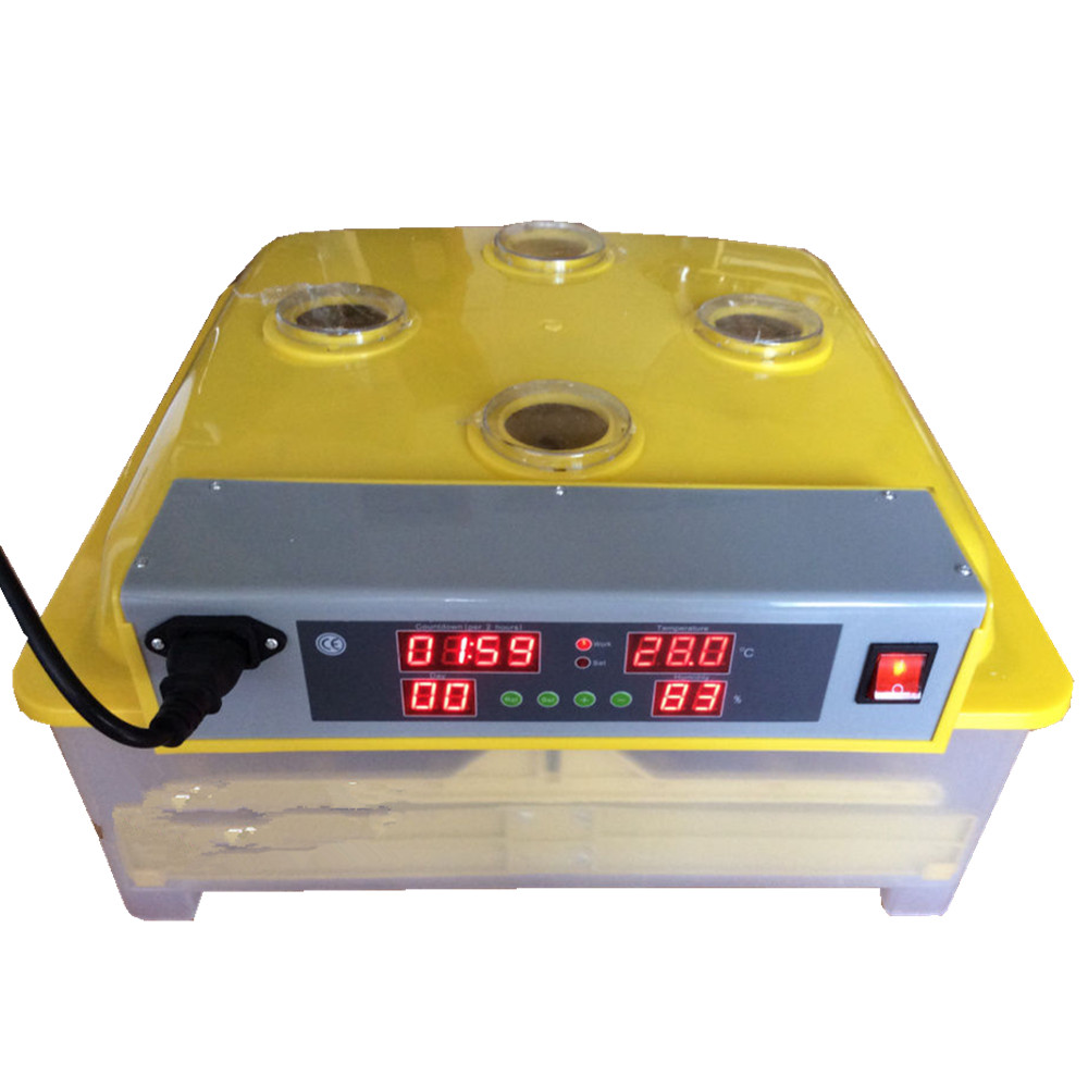 Fully Automatic Digital Incubator 48 Chicken Duck Egg Incubator Auto Temperature Control Hatcher Inkubator new design digital temperature incubator pet supply duck hatcher household chicken egg incubator