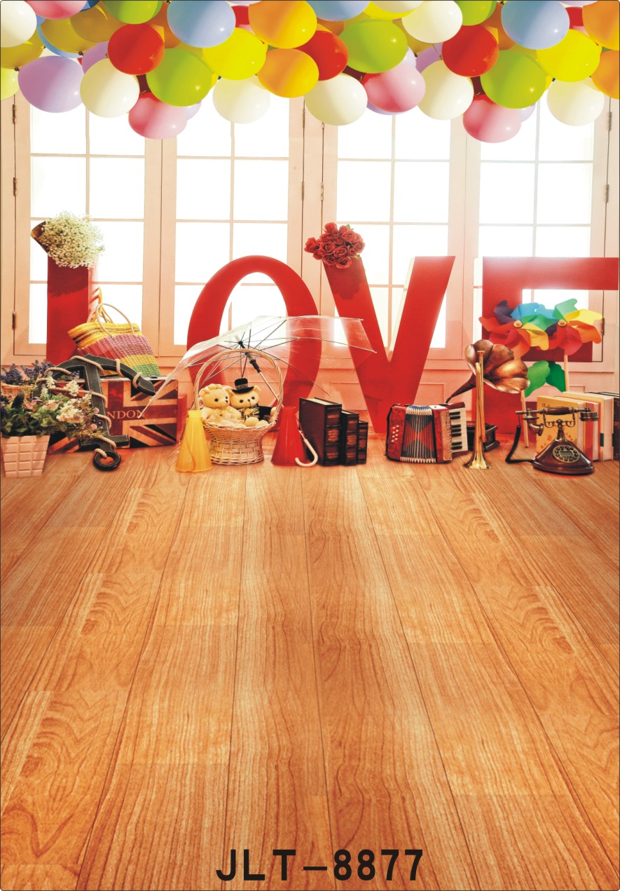 Hot sale studio backdrops for photography Valentine's Day
