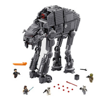 In stock05130 Compatible Logoing 75189 Star Wars Heavy Assault Walker Model Building Blocks Boys Birthday Gift Toys For Children star wars series the at st walker model building blocks set classic compatible 75153 lepin 05066 toys for children
