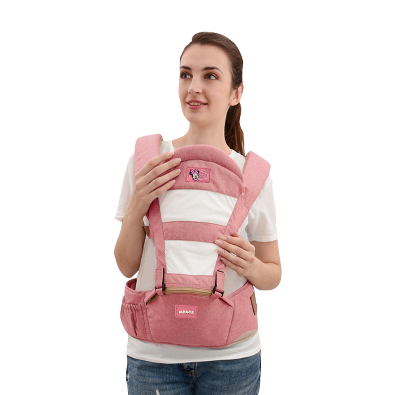 Disney Breathable  Baby Carrier Kangaroo Toddler Sling Wrap Portable Infant Hipseat Baby Care Waist Stool Adjustable Hip SeatDisney Breathable  Baby Carrier Kangaroo Toddler Sling Wrap Portable Infant Hipseat Baby Care Waist Stool Adjustable Hip Seat