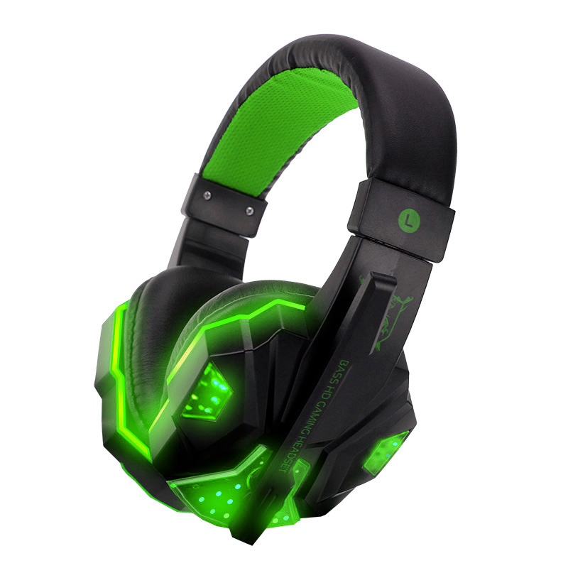 PS830 Wired Gaming Headset Deep Bass Game Earphone Computer headphones with microphone led light headphones for PS4 Xbox One ps830 ps4 headset bass gaming headphones game earphones casque with mic led light for ps4 pc mobile phone new xbox one tablet