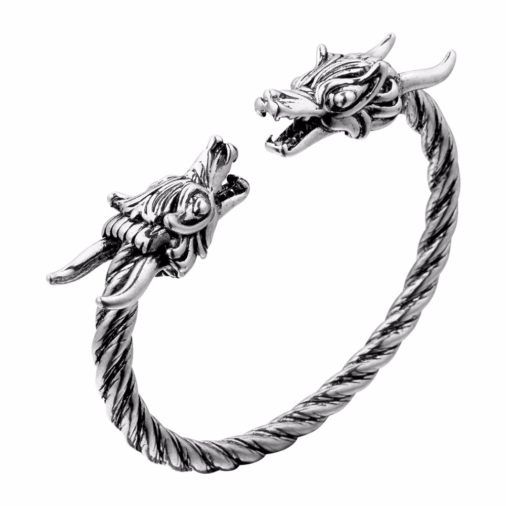 Bracelet Viking Dragon hommes 1