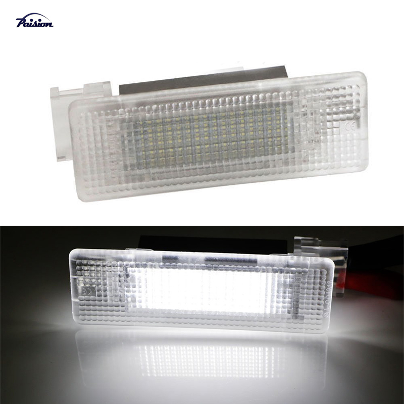 18SMD White LED Luggage Trunk Interior Light for Volkswagen VW Eos Golf GTI MK5 MK6 MK7 Scirocco Sharan Tiguan PASSAT JETTA(China)