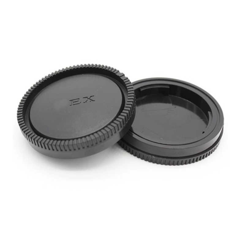 กล้อง + ฝาครอบเลนส์ด้านหลังสำหรับ Sony Alpha NEX Minolta MD Leica สำหรับ Pentax Olympus Micro M4/ 3 Fuji C-Y M39 กล้อง Mount