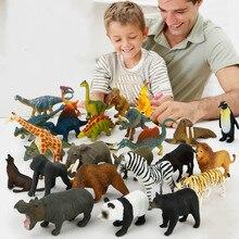 Мягкий резиновый фигурка животного, обучающие игрушки для детей 12 разных стилях праздничные платья, муляжи динозавров насекомое действие фигуры Детские игрушки