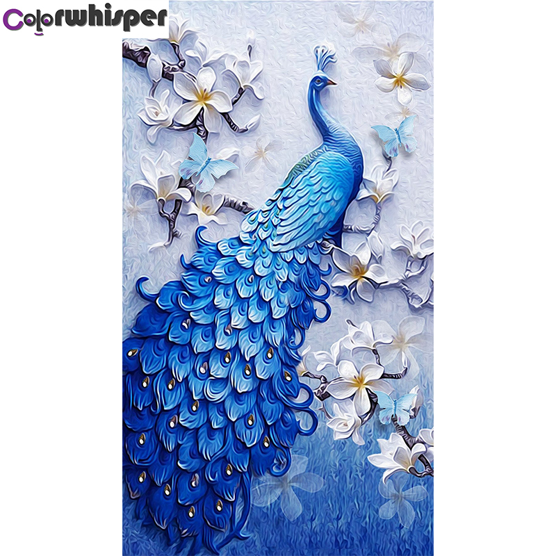 5D Diamond Painting Full Square/Round Drill Blue Peacock Daimond Painting Cross Stitch Kit Embroidery Mosaic Picture Art 052QW5D Diamond Painting Full Square/Round Drill Blue Peacock Daimond Painting Cross Stitch Kit Embroidery Mosaic Picture Art 052QW