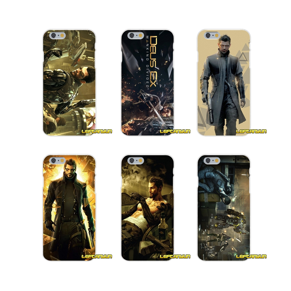 Deus Ex Mankind Divided Games For Samsung Galaxy A3 A5 A7 J1 J2 J3 J5 J7 2015 2016 2017 Accessories Phone Shell Covers
