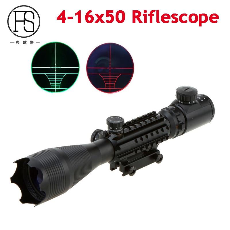 Tactical Optics Sight 4-16X50 EG Reticle Sight Scopes Airsoft Air Gun Riflescope Sniper Shooting Sight 20mm Rail Mount светильник 704634 monile osgona 1045034