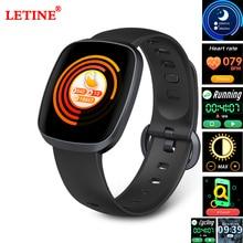 Купить с кэшбэком Waterproof Smart Watch GT103 Blood Pressure Fitness Tracker Sleep Monitor Music Control Full Screen Touch Sedentary reminder