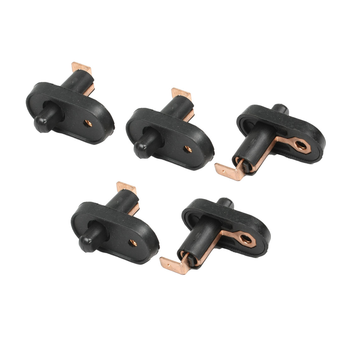 uxcell jamba de la puerta luz de cortesa interruptor del sensor asamblea set negro unids