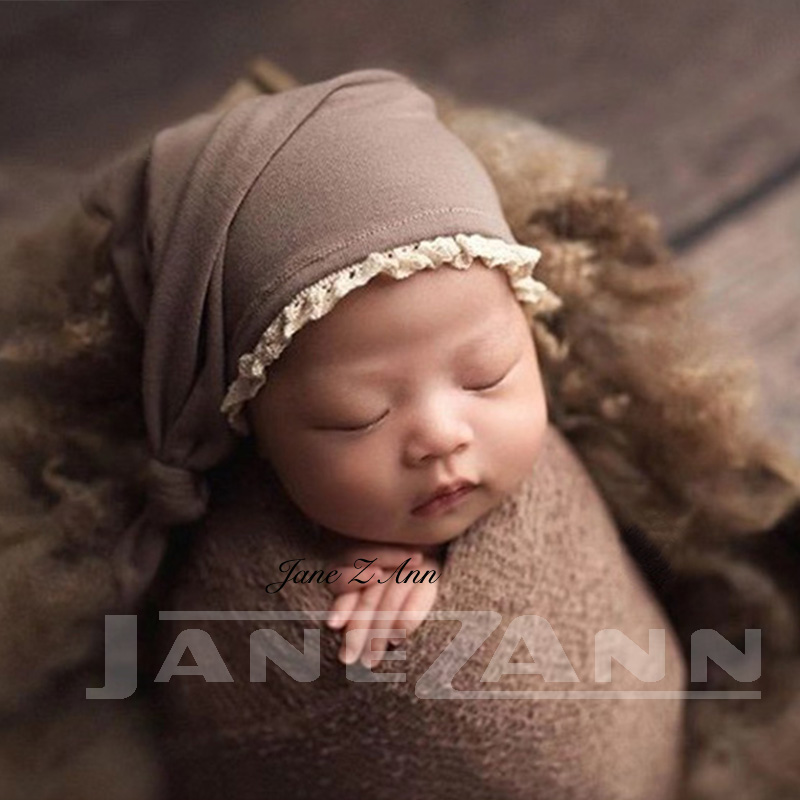 Jane Z Anncrochet Baby White Hammock Photography Props Knitted Newborn Infant Costume Photo Props Fotografia Accessories With Traditional Methods Hats & Caps Boys' Baby Clothing