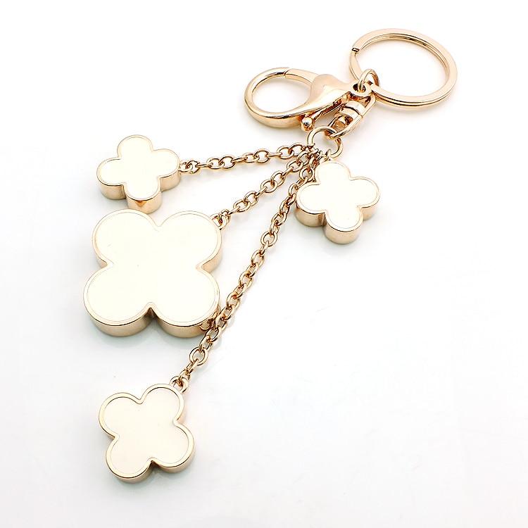 JINGLANG helt nytt mode guldfärg hummerlås nyckelringar dinglar - Märkessmycken - Foto 4