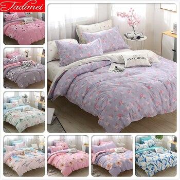 Adult Child Single Twin Full Double Queen King Size Quilt Comforter Duvet Cover 3/4 pcs Bedding Set Bed Linen 150x200 180x220 cm