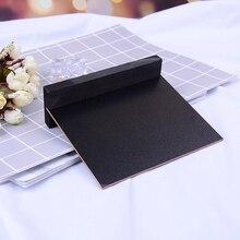 1 шт. Мини Свадебные кухонные ресторанные вывески меловая доска заметка Маленькая деревянная меловая доска для сообщений краска деревянная доска