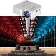 Портативный светодиодный мини-проектор UC28 PRO HDMI для домашнего кинотеатра AV VGA USB HSJ-19