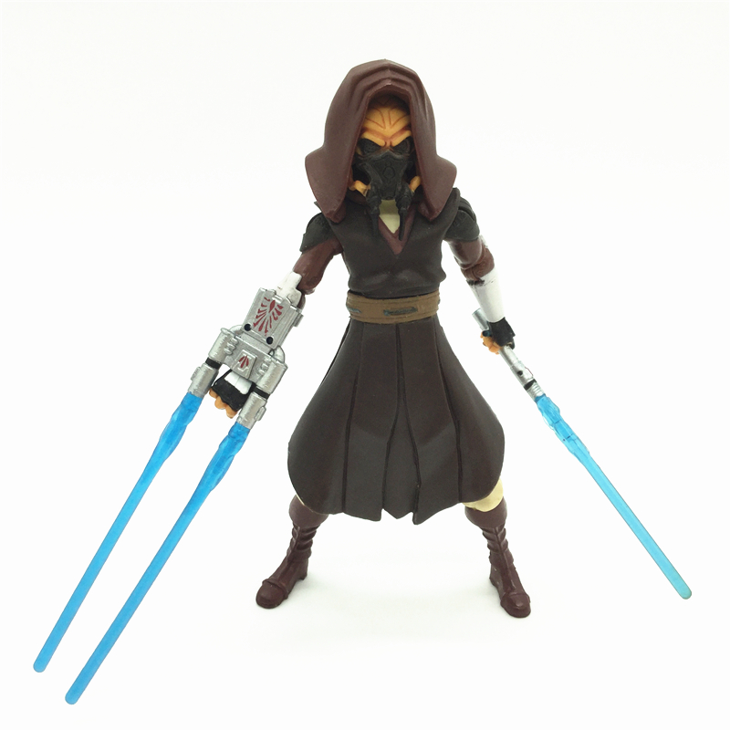 3.75'' Figures anime version Star War Jedi Plo Koon one piece figures model doll  Free shipping S011 6