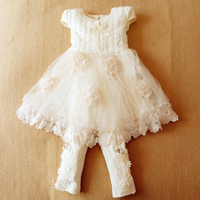 ФОТО Anlencool Infantil Meninas Free Shipping Brand Girls Dress Clothing New Summer Short-sleeved Female Roses Baby Princess