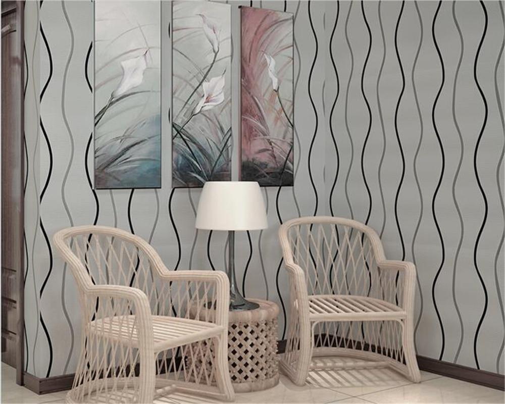 ФОТО Beibehang 3D wallpaper modern simple striped ripple curve wave wallpaper home decoration wallpaper papel de parede wallpaper