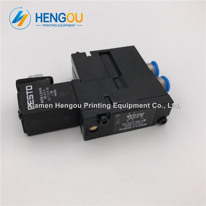 1 pièce Chine post livraison gratuite Heidelberg valve MEBH-4/2-QS-6-SA M2.184.1121/05 d'importation Offre Spéciale maintenant