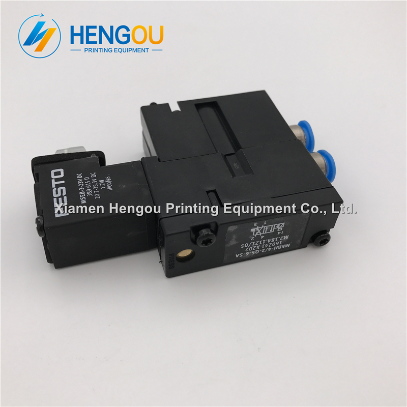 1 piece China post free shipping Heidelberg valve FESTO MEBH-4/2-QS-6-SA M2.184.1121/05 import hot sale now 1 piece heidelberg valve m2 184 1121 festo original solenoid valve mebh 4 2 qs 6 sa m2 184 1121 05