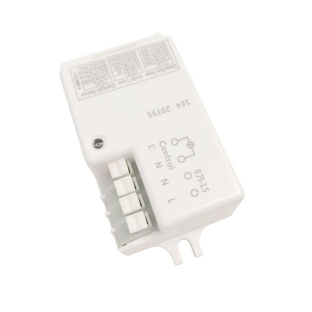 220V ~ 240V 800W led Mikrowelle Radar Sensor Schalter Körper Motion Detektor Licht Modul Home Control PIR infrarot Ray