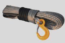 Серый синтетический трос для лебедок 10 мм * 30 м, кабель для лодочной лебедки 10 мм, фотомагнитный трос, плазменный трос