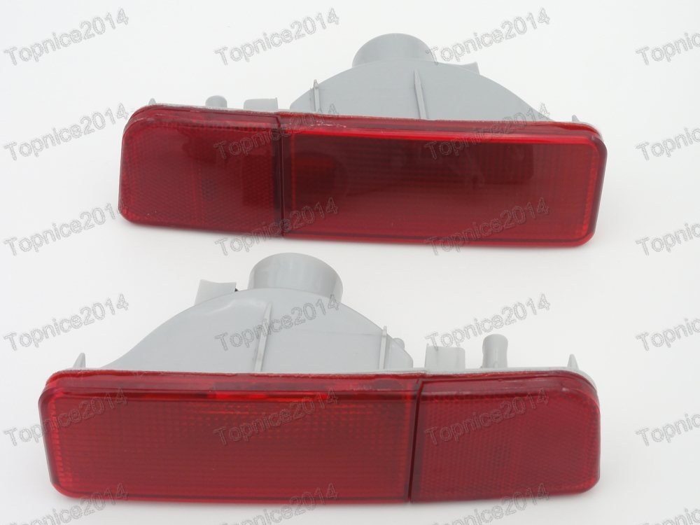 1Pair stražnja svjetla za maglu, svjetla za maglu, zadnja svjetla, - Svjetla automobila - Foto 1