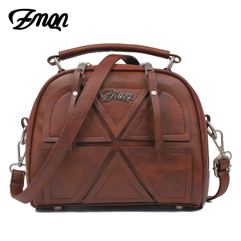 ZMQN Women Messenger Bags Famous Brand 2017 Vintage Retro Women Crossbody Bag Small PU Leather Handbags For Women Splicing A523 hot sale 2017 vintage cute small handbags pu leather women famous brand mini bags crossbody bags clutch female messenger bags