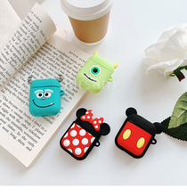 Cartoon Wireless animal Earphone Case For Apple AirPods 2 Silicone Charging Headphones Cases Airpods Protective Cover