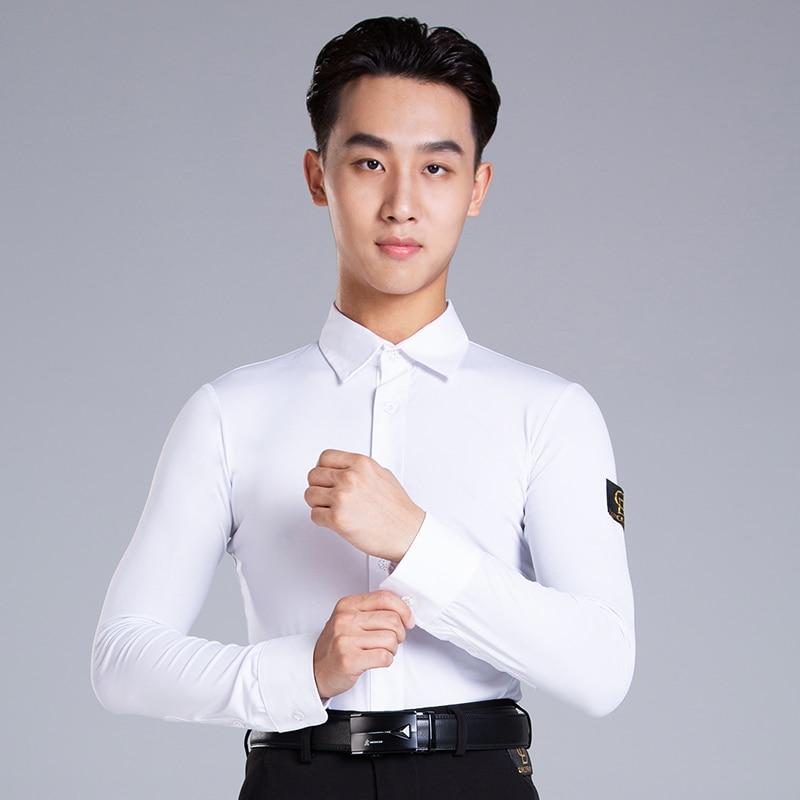 2019  Latin Dance Garment Dance Waltz Ballroom Dance Garment Performance latin man shirts Garment Top DA799-in Latin from Novelty & Special Use on Aliexpress.com   Alibaba Group