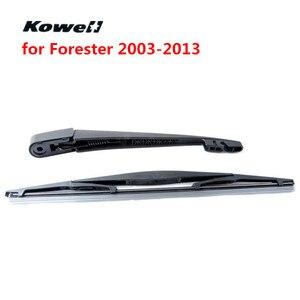 Задние щетки стеклоочистителя KOWELL для Subaru Forester 2003-2013, сменные щетки для автомобильных дворников, стеклоочиститель