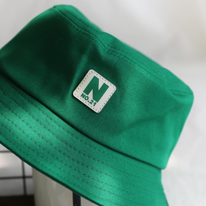 2c98200c 2018 green Bucket Hat Fisherman Hats Men Women Outer Summer Street Hip Hop  Dancer Cotton Panama City Hat-in Bucket Hats from Apparel Accessories on ...