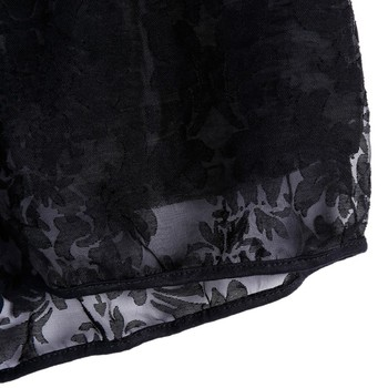 Women's Drawstring Shorts Sexy Lace Sheer Floral Hollow Out Elastic Party Travel Shorts Panty Summer 8