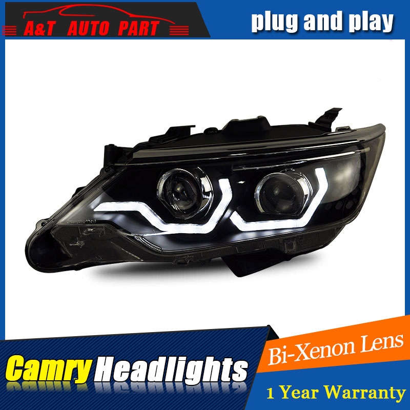 car Styling LED Head Lamp for Toyota Camry led headlights 2015 2016 2017 for Camry drl