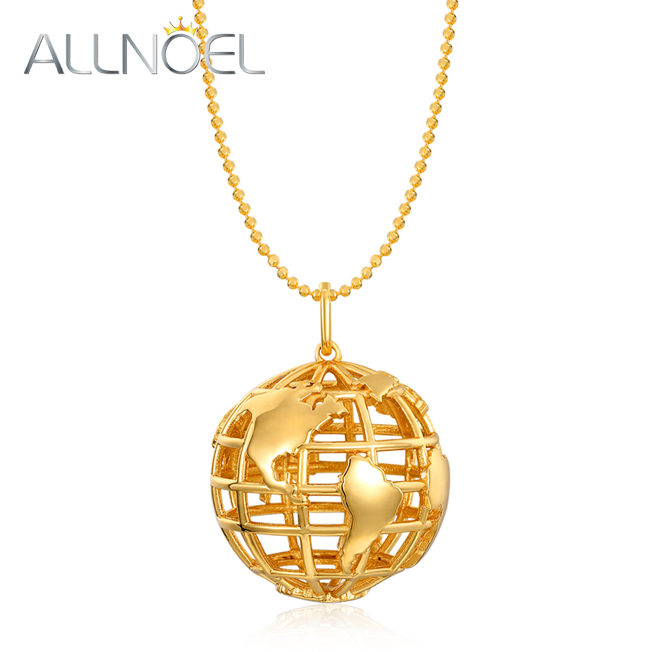 ALLNOEL Long Sweater Necklace Pendants Silver Pendant Gold Plated 925 Solid Globe Earth Gifts Women Clothes Accessories Jewelry ALLNOEL Long Sweater Necklace Pendants Silver Pendant Gold Plated 925 Solid Globe Earth Gifts Women Clothes Accessories Jewelry