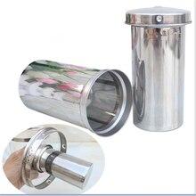 Нержавеющая сталь Чай заварки инструменты для кофе и чая свободные Чай лист фильтры многоразовые цилиндр сетка, фильтр грубой очистки, Чай ситечко