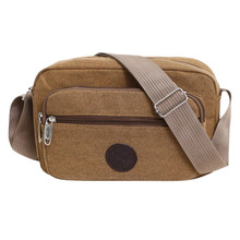 купить Men's Fashion Travel Cool Canvas Bag Men Messenger Crossbody Bags Bolsa Feminina Shoulder Bags Pack School Bags for Teenager по цене 113.33 рублей