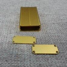 5 ШТ. Алюминиевый корпус Инструмент оболочки электрический проект коробка DIY 45X18X80 мм НОВЫЙ