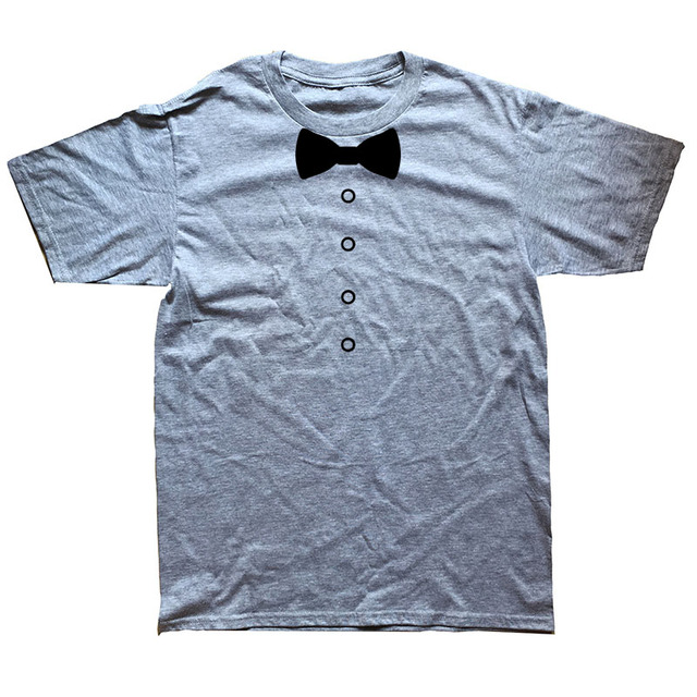 Awesome Tuxedo Bow Tie T-SHIRT9