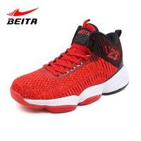 BeiTa men jordan basketball shoes kyrie 4 foamposite curry jordan 32 basketball shoes tenis masculino adulto high top sneakers