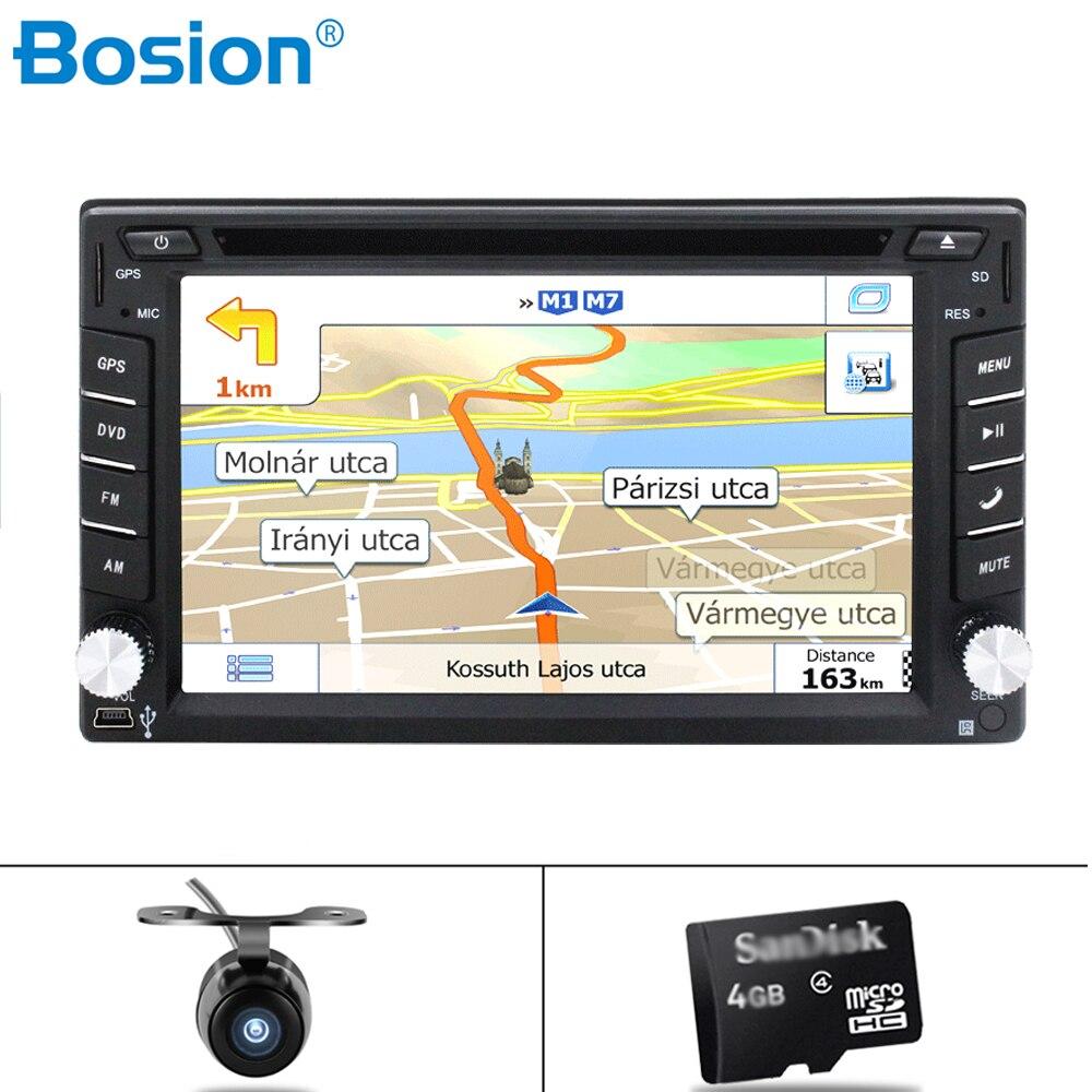 Autoradio 2 Din universel Autoradio 6.2 ''pouces LCD écran tactile lecteur Autoradio Bluetooth voiture Support Audio caméra de recul