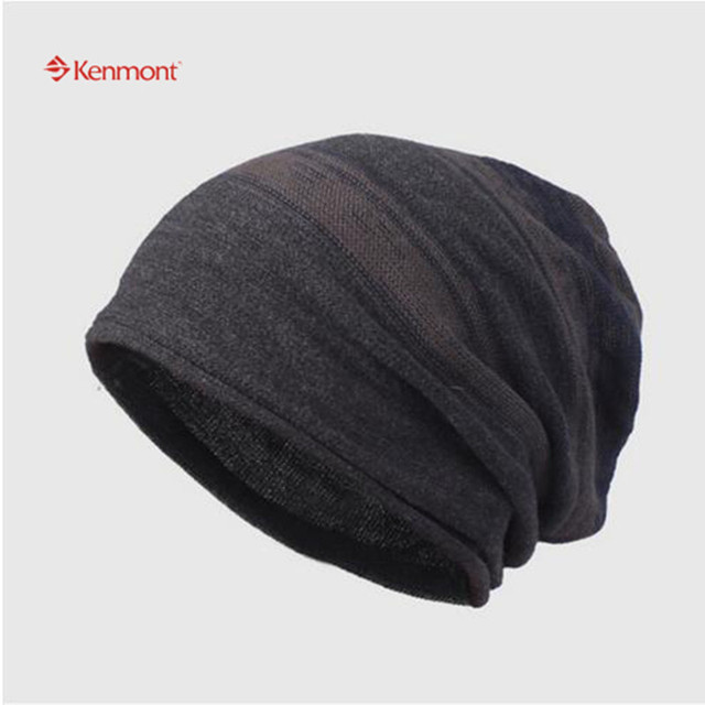 Kenmont Autumn Winter Unisex Men Warm Knit Ski Outdoor Earflap Beanie Hat Skull Slouch Cap 1547