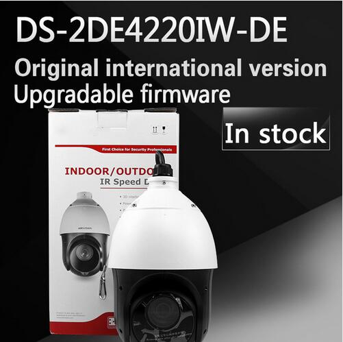 free shipping english version DS-2DE4220IW-DE 2MP IP Camera Mini PTZ Camera security Camera instead of DS-2DE4582-A трубный ключ topex stillson 34d616