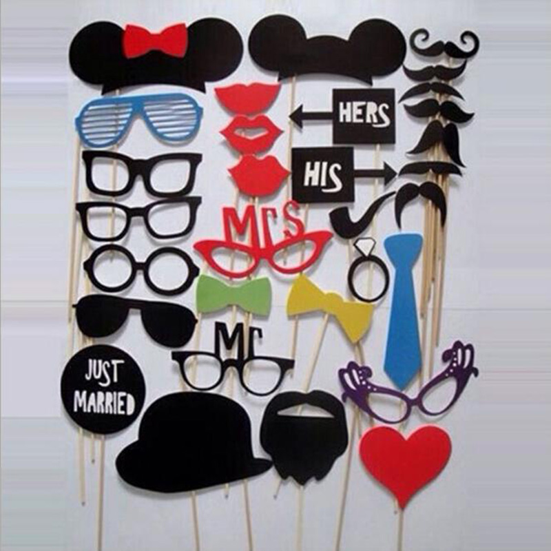 31pcs DIY Photo Booth Prop Wedding Birthday Party Decorations Stick Wedding Party Favor Mask Photo Booth Props $31pcs DIY Photo Booth Prop Wedding Birthday Party Decorations Stick Wedding Party Favor Mask Photo Booth Props $