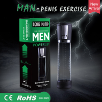 Electric Automatic Penis Pump USB Rechargeable Penis Enlarger Vacuum Pump Powerful Penis Enlargement Extender HealthMassage