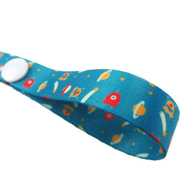 1 * Cadena de chupete para cochecito de bebé juguetes para niños mordedor chupete Anti-caída cuerda colgante soporte para pezones correa de sujeción Clips de chupete Correa